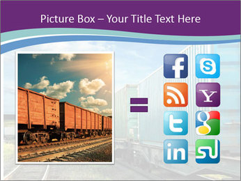 Loaded Locomotive PowerPoint Templates - Slide 21