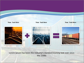 Loaded Locomotive PowerPoint Templates - Slide 22