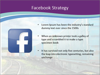 Loaded Locomotive PowerPoint Templates - Slide 6