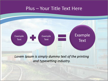 Loaded Locomotive PowerPoint Templates - Slide 75
