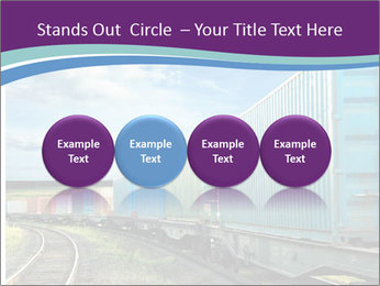 Loaded Locomotive PowerPoint Templates - Slide 76