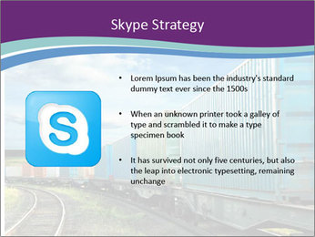 Loaded Locomotive PowerPoint Templates - Slide 8