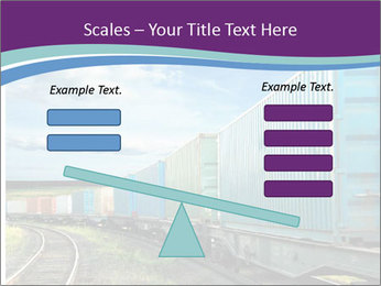 Loaded Locomotive PowerPoint Templates - Slide 89