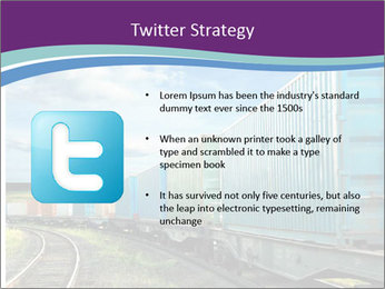 Loaded Locomotive PowerPoint Templates - Slide 9