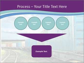 Loaded Locomotive PowerPoint Templates - Slide 93