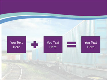 Loaded Locomotive PowerPoint Templates - Slide 95