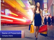 Fashion Shopping PowerPoint Template
