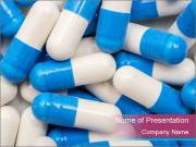 White And Blue Pills PowerPoint Templates