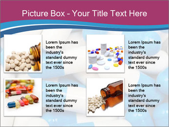 White And Blue Pills PowerPoint Template - Slide 14