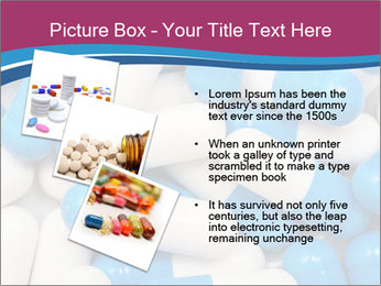 White And Blue Pills PowerPoint Template - Slide 17