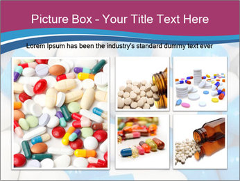 White And Blue Pills PowerPoint Template - Slide 19