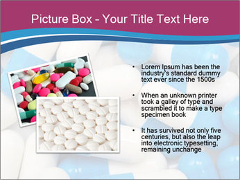 White And Blue Pills PowerPoint Template - Slide 20