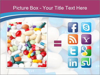 White And Blue Pills PowerPoint Template - Slide 21