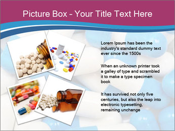 White And Blue Pills PowerPoint Template - Slide 23