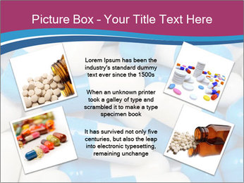 White And Blue Pills PowerPoint Template - Slide 24