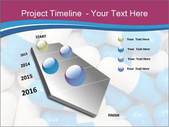 White And Blue Pills PowerPoint Template - Slide 26