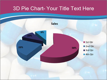 White And Blue Pills PowerPoint Template - Slide 35