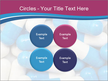 White And Blue Pills PowerPoint Template - Slide 38