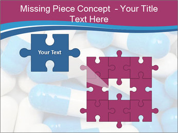 White And Blue Pills PowerPoint Template - Slide 45