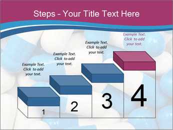 White And Blue Pills PowerPoint Template - Slide 64