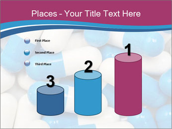 White And Blue Pills PowerPoint Template - Slide 65