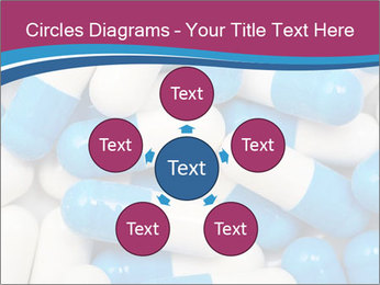 White And Blue Pills PowerPoint Template - Slide 78