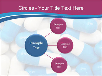 White And Blue Pills PowerPoint Template - Slide 79
