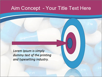 White And Blue Pills PowerPoint Template - Slide 83