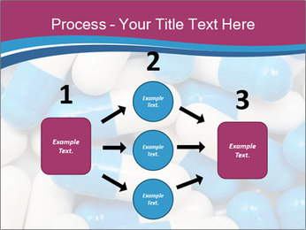 White And Blue Pills PowerPoint Template - Slide 92