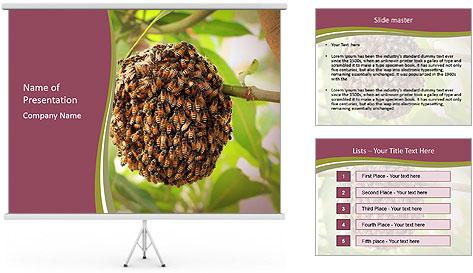 Bee Nest PowerPoint Template