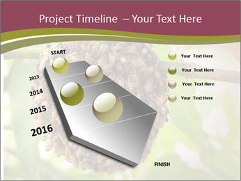 Bee Nest PowerPoint Template - Slide 26