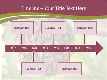 Bee Nest PowerPoint Template - Slide 28