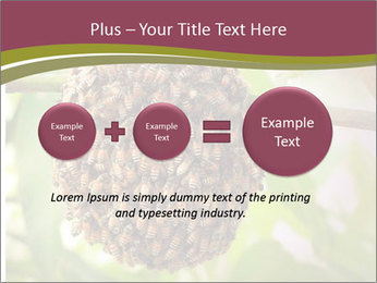 Bee Nest PowerPoint Template - Slide 75
