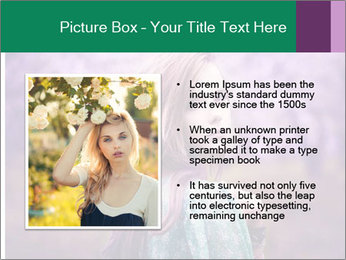 Fairy Vintage Photomodel PowerPoint Template - Slide 13