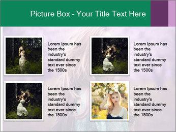 Fairy Vintage Photomodel PowerPoint Template - Slide 14