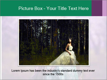 Fairy Vintage Photomodel PowerPoint Template - Slide 16