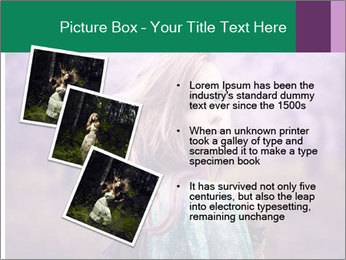 Fairy Vintage Photomodel PowerPoint Template - Slide 17