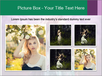 Fairy Vintage Photomodel PowerPoint Template - Slide 19