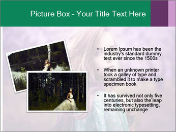 Fairy Vintage Photomodel PowerPoint Template - Slide 20