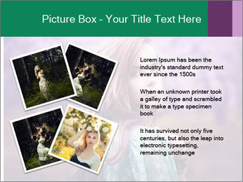 Fairy Vintage Photomodel PowerPoint Template - Slide 23