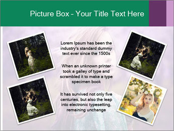Fairy Vintage Photomodel PowerPoint Template - Slide 24