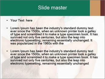 Babby Massage PowerPoint Template - Slide 2