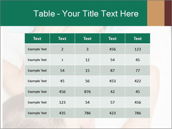 Babby Massage PowerPoint Template - Slide 55