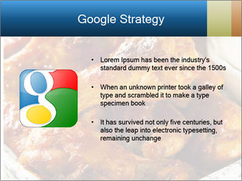 Roasted Wings PowerPoint Templates - Slide 10