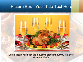 Roasted Wings PowerPoint Template - Slide 15