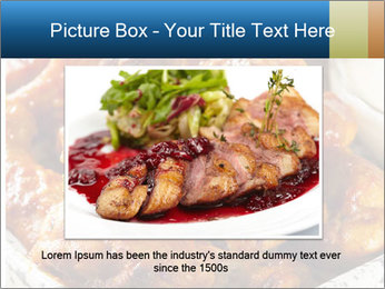 Roasted Wings PowerPoint Templates - Slide 16