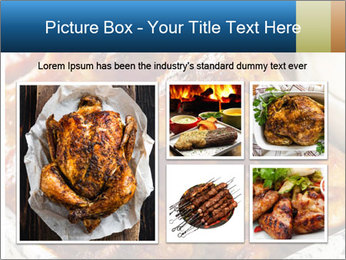 Roasted Wings PowerPoint Templates - Slide 19