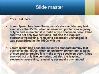 Roasted Wings PowerPoint Templates - Slide 2