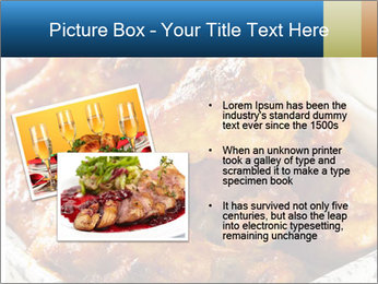 Roasted Wings PowerPoint Template - Slide 20