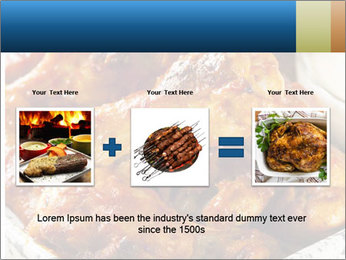 Roasted Wings PowerPoint Templates - Slide 22